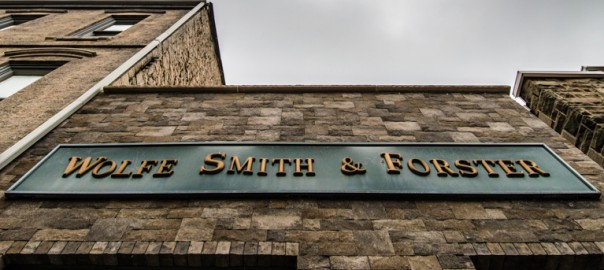 Streetfront view of the Wolfe Smith Forster offices